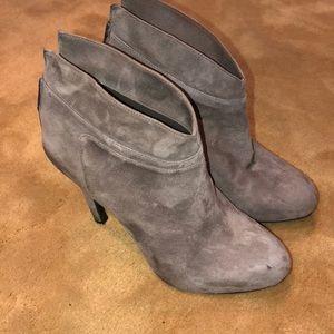 new grey suede jessica simpson booties